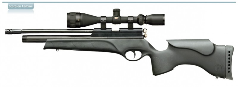airgun big scorpion carb tact 800x294 Выбираем компактную PCP