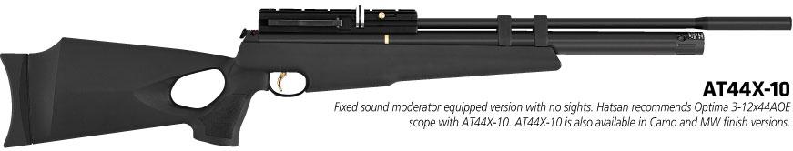 AT44 10 Обзор PCP винтовки Hatsan AT44 10