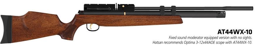 AT44W 10 wood Обзор PCP винтовки Hatsan AT44 10