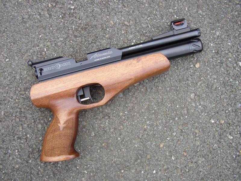 Brocock Atomic Pistol 002 700358 800x600 Обзор пистолетов Brocock Aim X Gran Prix и Atomic