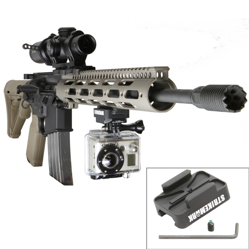 Strikemark Deluxe GoPro Gun Mount Small Крепление видеокамеры к винтовке