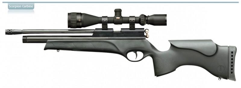 airgun big scorpion carb tact 800x294 Обзор BSA Ultra и BSA Scorpion в полимерном ложе