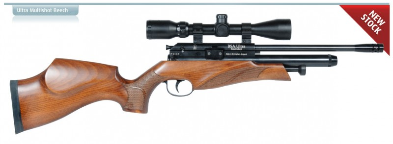 airgun big ultramultibeech 800x294 Обзор BSA Ultra Multishot с буковым ложем Minnelli