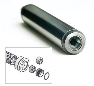 silencer vc Обзор BSA Ultra и BSA Scorpion в полимерном ложе