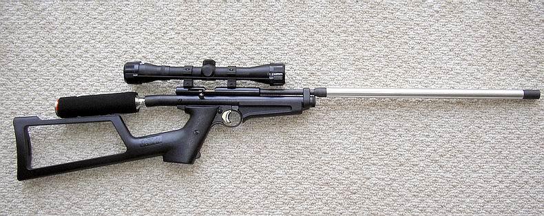 xt2250 Crosman с 24 дюймовым стволом