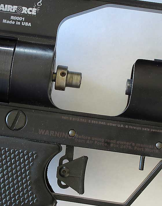 04 12 12 01 AirForce Talon SS precharged pneumatic air rifle top hat Большой обзор AirForce Talon SS. Тестируем мощность