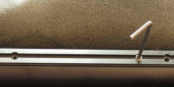 04 26 12 03 AirForce Talon SS Allen wrench in bushing screw Большой обзор AirForce Talon SS. Для чего нужен 24 дюймовый ствол