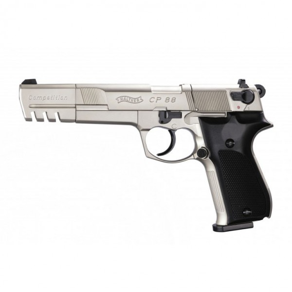 Walther CP88 Competition Nickel 600x600 Выбираем пневматический пистолет. 8 популярных моделей