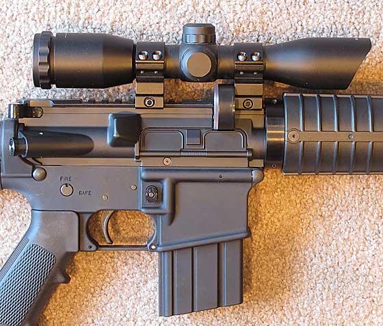 04 23 12 03 MAR with scope Crosman MAR 177 тест точности и мощности