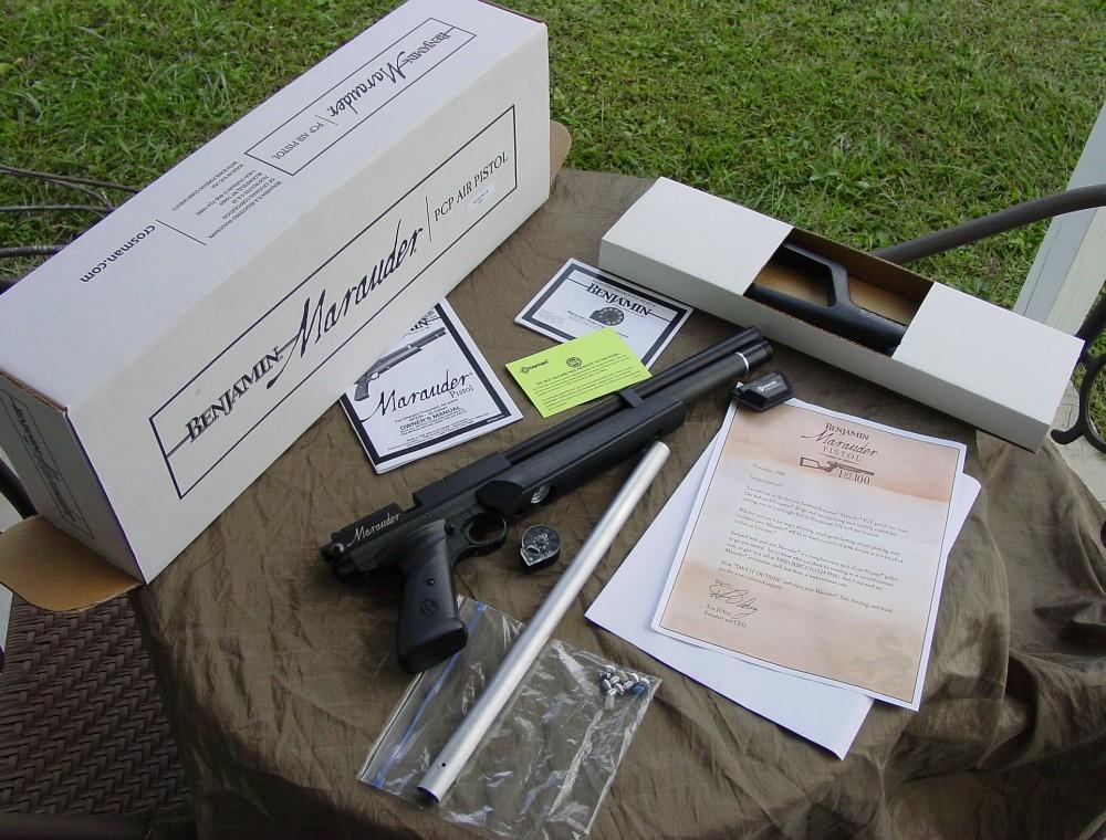 8096206 orig Пистолет Benjamin Marauder