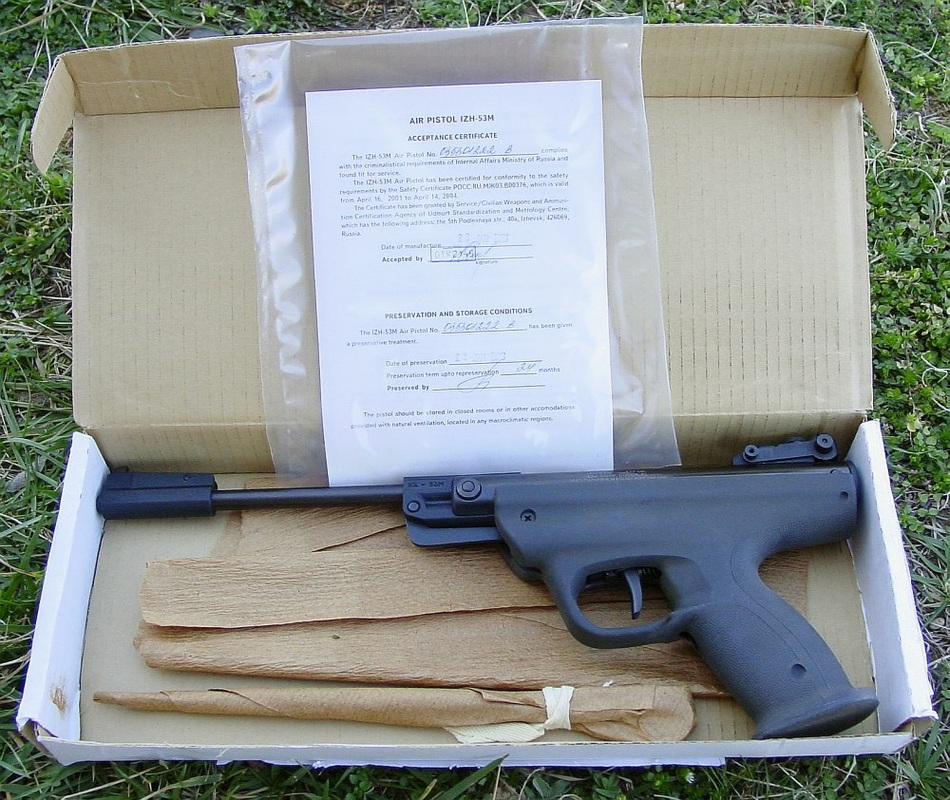 9797162 orig Пневматический пистолет ИЖ 53М
