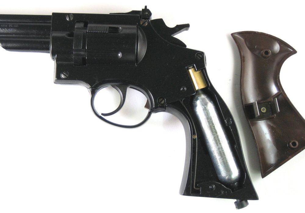 Crosman 38T 10 1 Пневматический револьвер Crosman 38T