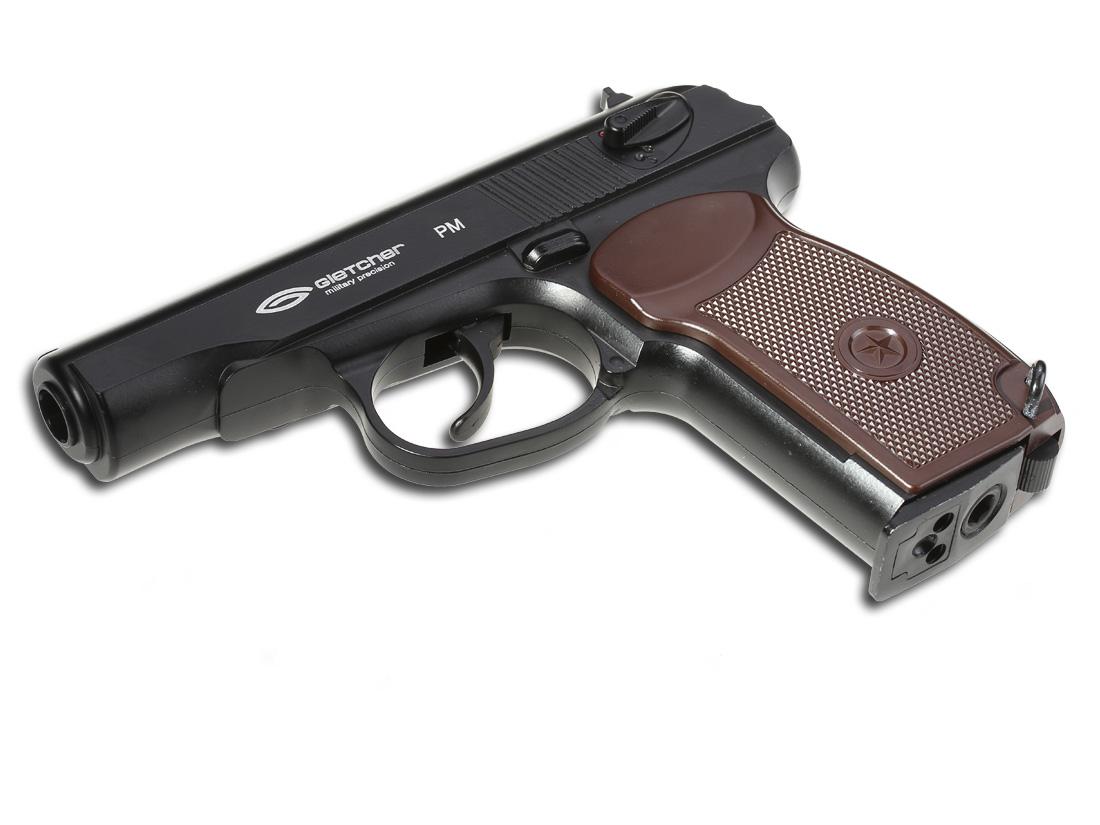 Gletcher PM Пневматические пистолеты Gletcher