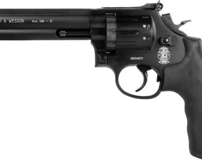 SW586 5 400x320 Пневматический револьвер Smith & Wesson 586