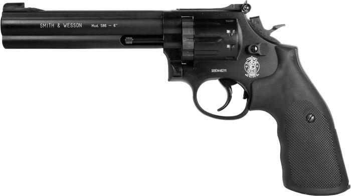 SW586 5 Пневматический револьвер Smith & Wesson 586