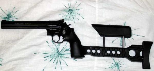 SW586 9 Пневматический револьвер Smith & Wesson 586