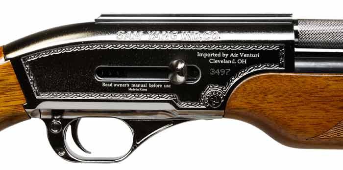 Sam Yang Dragon Claw 9 Крупнокалиберная пневматическая винтовка Sam Yang Dragon Claw .50
