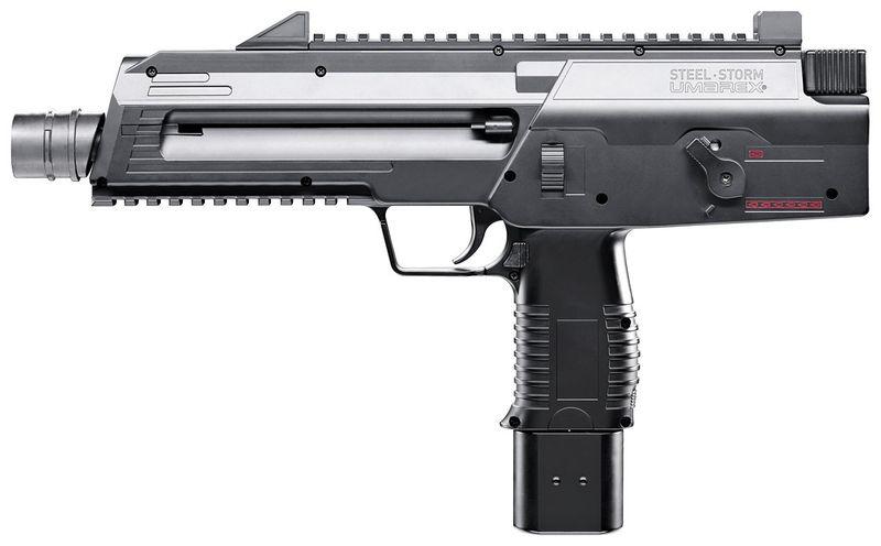 Umarex Steel Storm 7 1 Пистолет пулемет Umarex Steel Storm