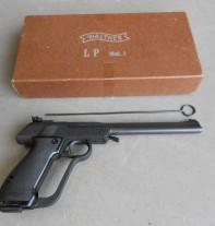 пневматический пистолет Walther LP2