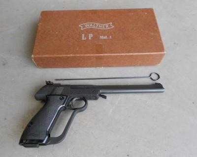 Walther LP2 25 400x320 Пневматический пистолет Walther LP2