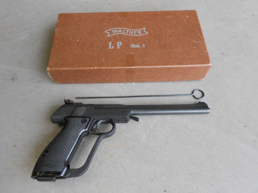 Walther LP2 25 Пневматический пистолет Walther LP2