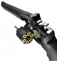 пневматический пистолет револьвер ASG Dan Wesson
