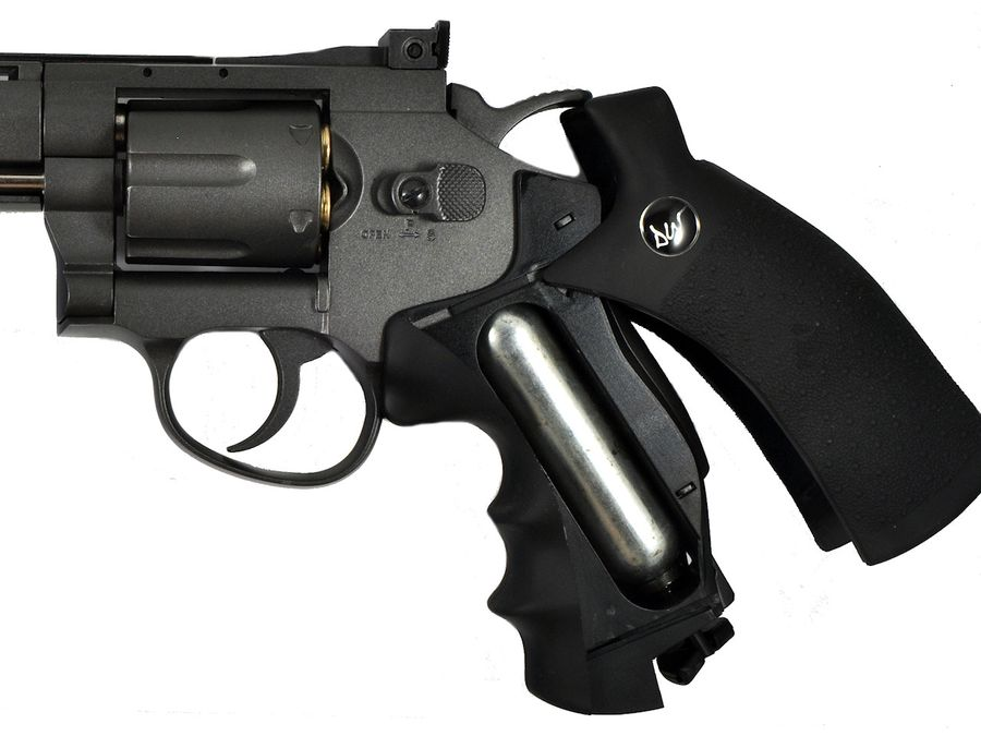 ASG Dan Wesson 3 Пневматический пистолет револьвер ASG Dan Wesson