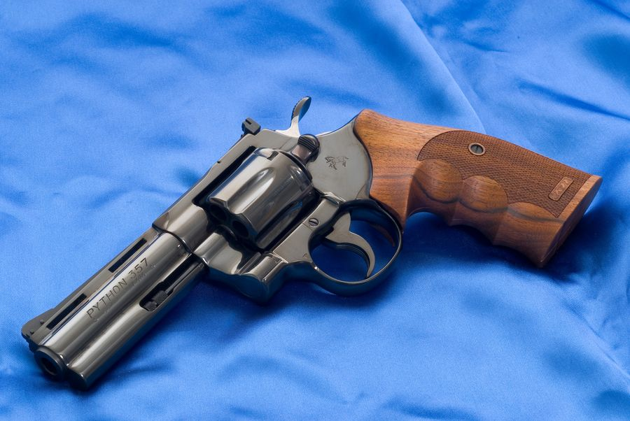 Colt Python 1 Пневматический пистолет револьвер Crosman 357