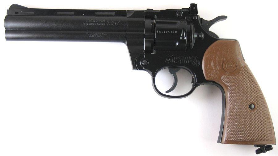 Crosman 1357 5 Пневматический пистолет револьвер Crosman 1357