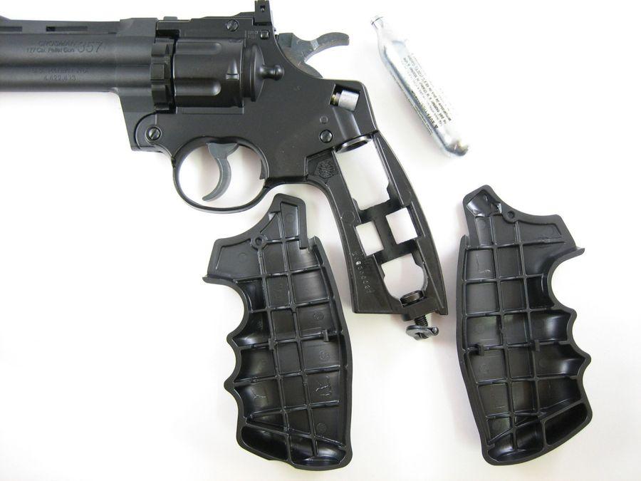 Crosman 357GW 1 Пневматический пистолет револьвер Crosman 357GW