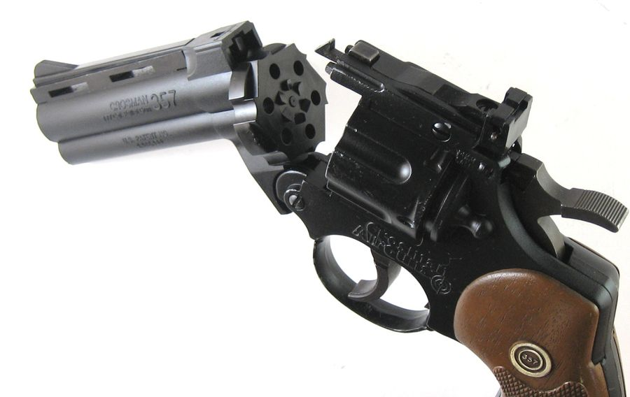 Crosman Model 357 Four 2 Пневматический пистолет револьвер Crosman 357