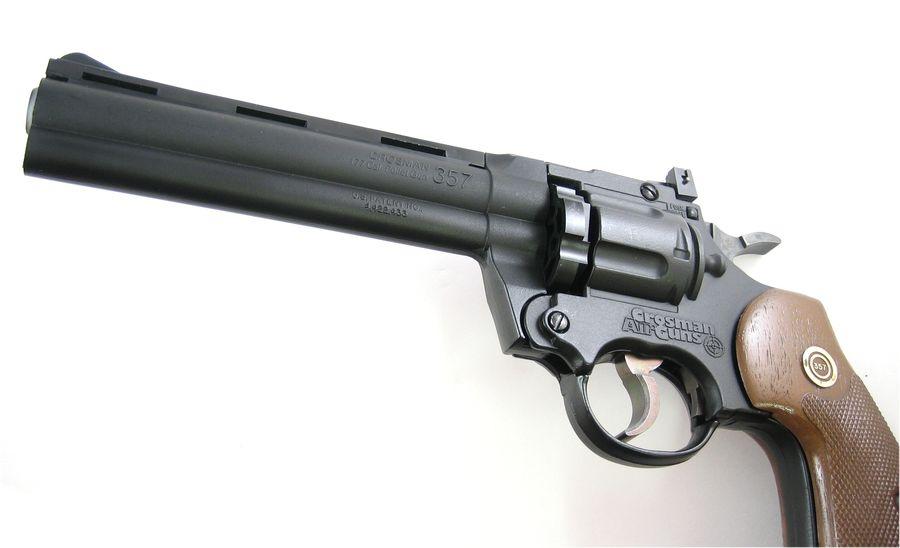 Crosman Model 357 Six 2 Пневматический пистолет револьвер Crosman 357
