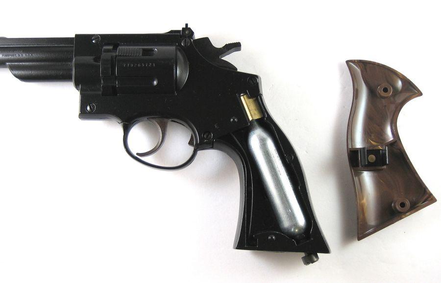 Crosman Model 38C 1 Пневматический пистолет револьвер Crosman Model 38C