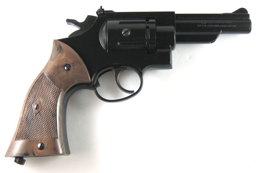Crosman Model 38C 8 Пневматический пистолет револьвер Crosman Model 38C