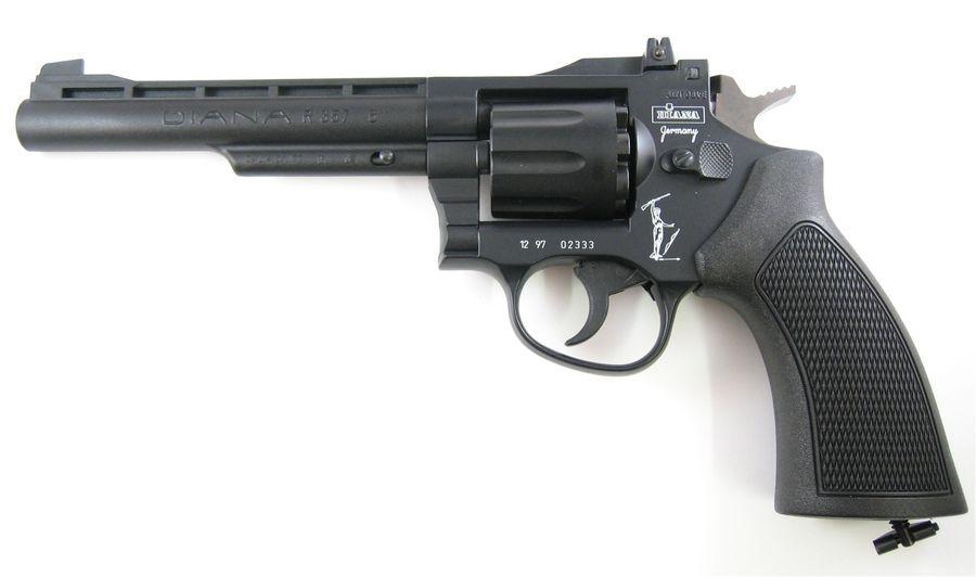 Diana R 357 7 1 Пневматический пистолет револьвер Diana R357