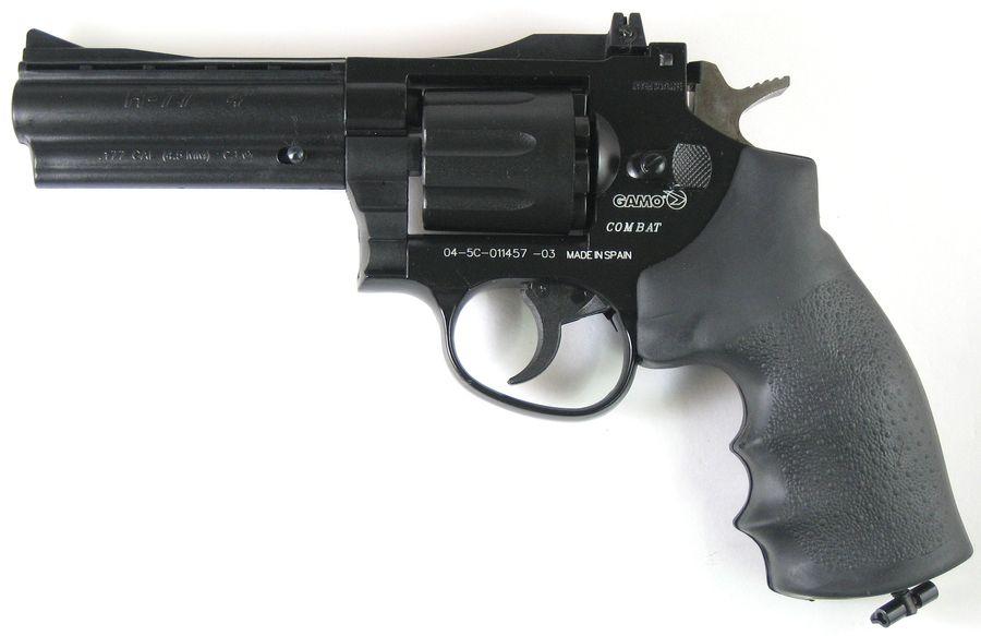 Gamo R77 Combat 7 Пневматический пистолет револьвер Gamo R 77
