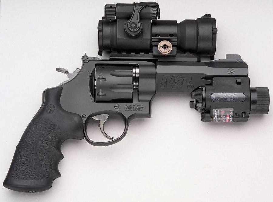 MPR8 Пневматический пистолет револьвер Smith & Wesson M&P R8