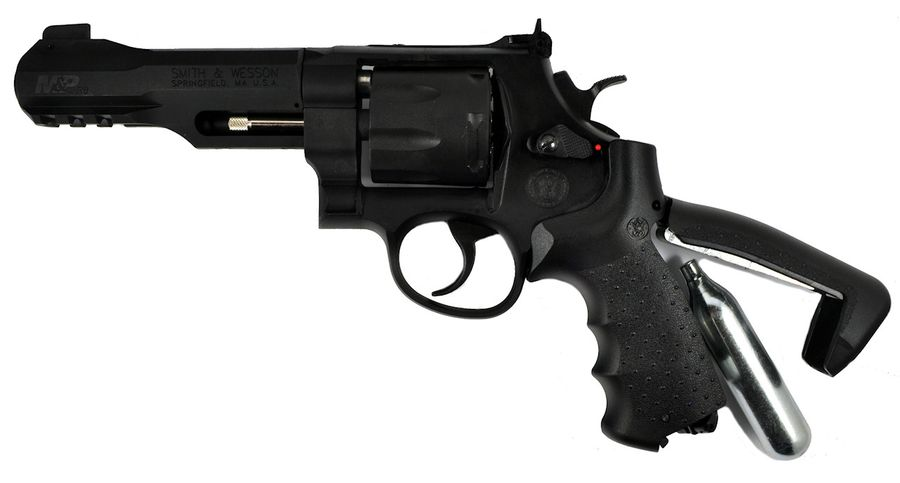 SW MP R8 2 1 Пневматический пистолет револьвер Smith & Wesson M&P R8
