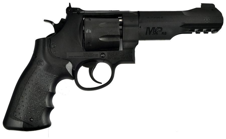 SW MP R8 9 1 Пневматический пистолет револьвер Smith & Wesson M&P R8