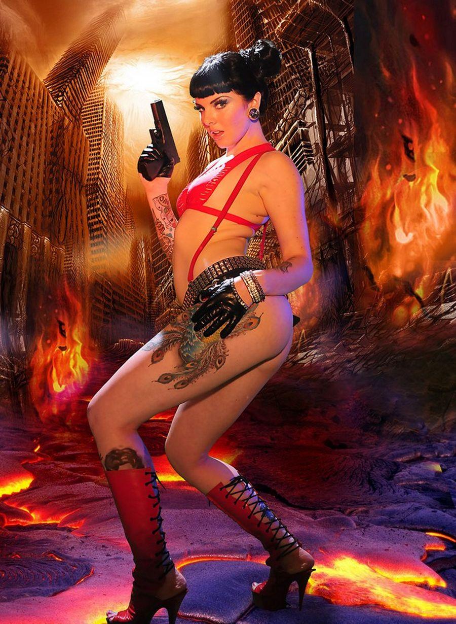 girl war 47 1 Девушки и оружие