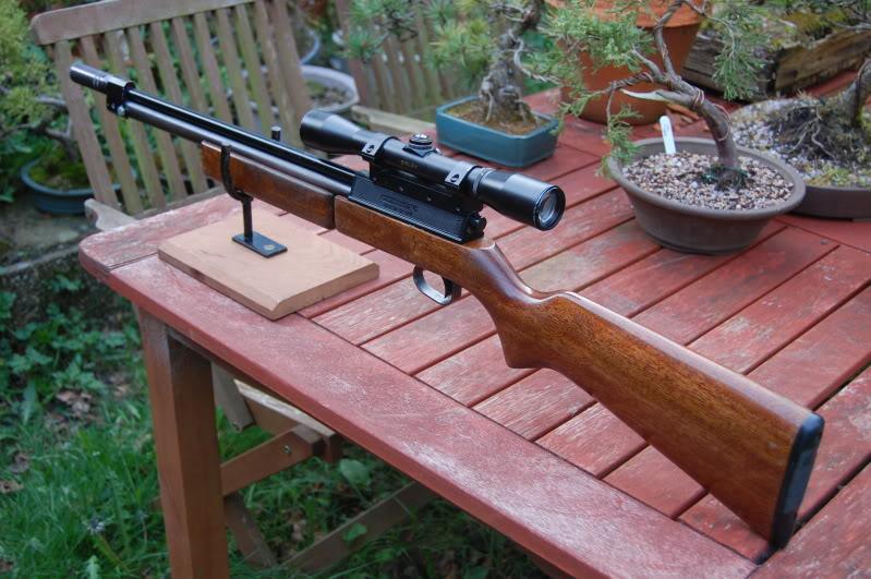 sharp innova 7 Обзор пневматической винтовки Umarex Jagd, она же ZOS Innova, она же Sharp Innova