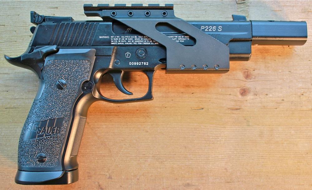 Cybergin Sig Sauer Sight Rail Rigth Side Cybergun Sig Sauer X Five P226