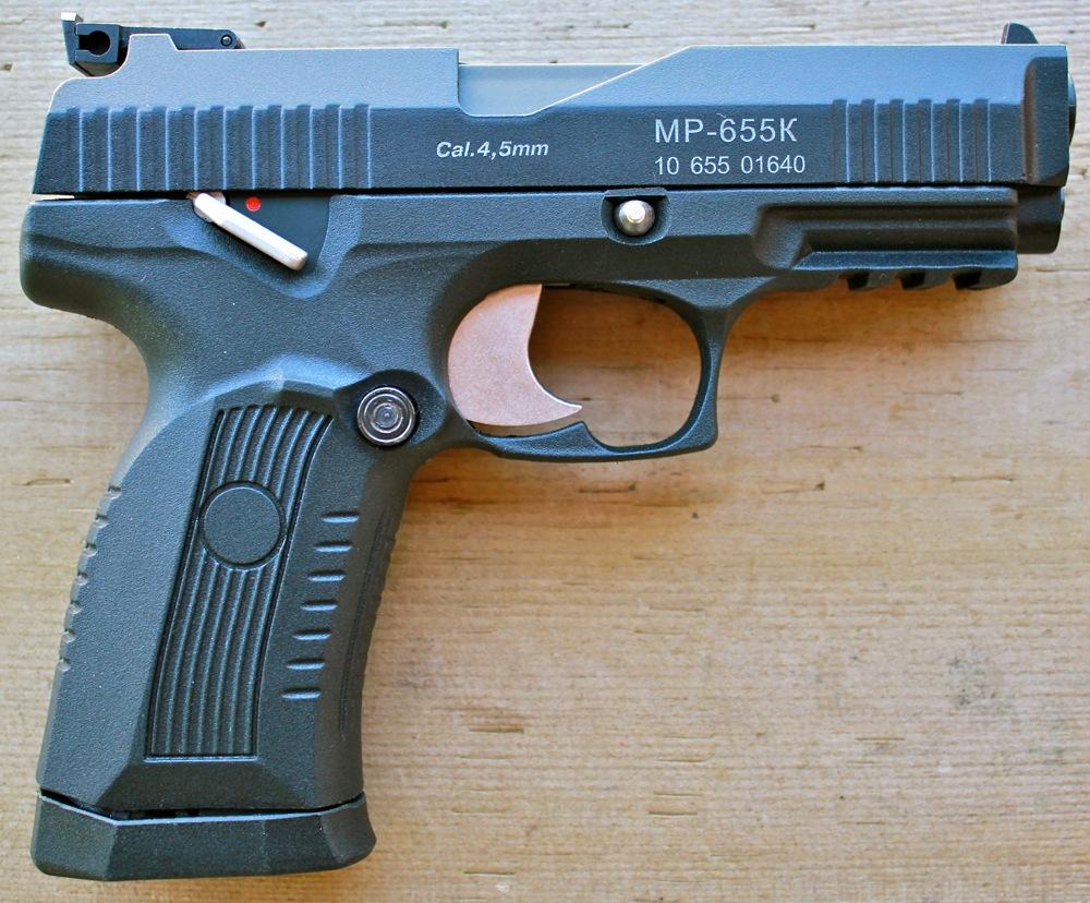 IZH MP 655K 3 Пневматический гибрид от ИЖ Мех   пистолет MP 655K