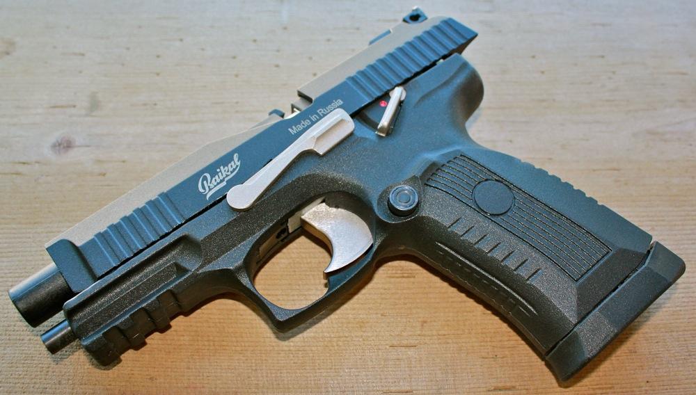 IZH MP 655K Пневматический гибрид от ИЖ Мех   пистолет MP 655K