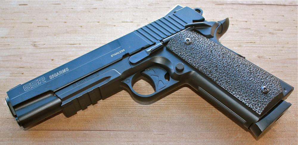 Pnevmaticheskij pistolet Cybergun Sig Sauer GSR 2 Cybergun Sig Sauer GSR Sigarms