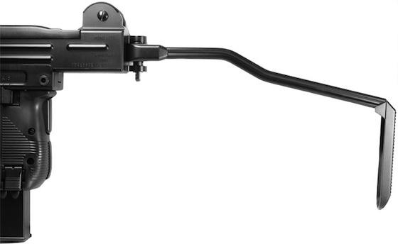 UZI BB Gun Folding Stock Cybergun Mini UZI