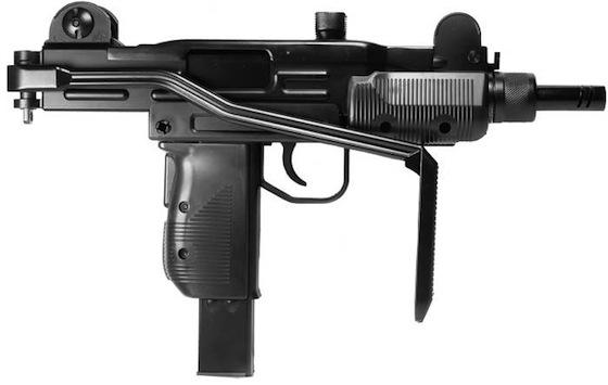 UZI BB Gun Right Side Cybergun Mini UZI