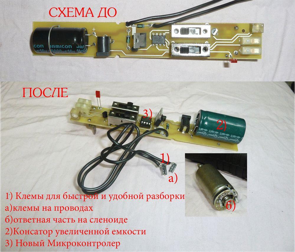 shema Тюнинг ИЖ МР 661 Дрозд PCP