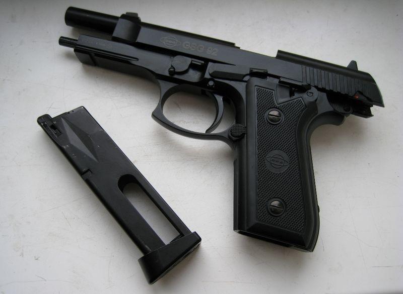 2832789 Пневматический пистолет Cybergun GSG 92