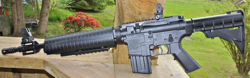 Crosman M4 177 MP Left Side Мультикомпрессионная винтовка Crosman M4 177